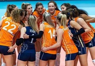 Dames Volleybal Nations League 19-21 mei